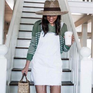 Striped v-neck sweater size XS Lou & Grey NWT